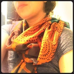 Light and colorful scarf
